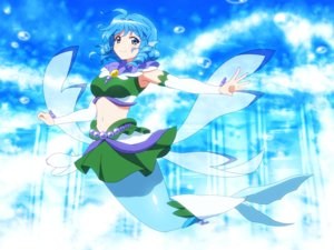 Rating: Safe Score: 14 Tags: blue_eyes blue_hair cosplay go!_princess_precure mermaid parody precure shirosato short_hair skirt touhou underwater wakasagihime water User: otaku_emmy