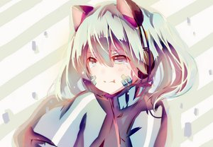 Rating: Safe Score: 139 Tags: animal_ears blue_eyes blue_hair ene_(kagerou_project) kagerou_project pudding_(8008208820) short_hair tears User: FormX
