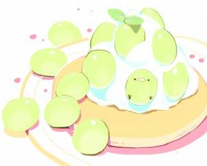 Rating: Safe Score: 7 Tags: animal bird cake chai_(artist) food fruit nobody original polychromatic signed User: otaku_emmy