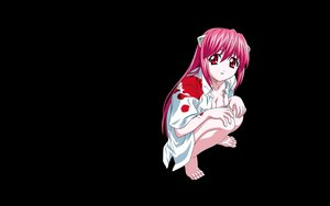 Rating: Safe Score: 23 Tags: barefoot black blood crying elfen_lied lucy_(elfen_lied) photoshop pink_eyes pink_hair vector User: ElementK2