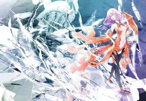 Rating: Safe Score: 39 Tags: breasts guilty_crown navel pink_eyes pink_hair tanikku yuzuriha_inori User: FormX