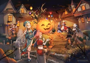 Rating: Safe Score: 40 Tags: animal animal_ears bat black_hair blonde_hair braids building cape dress elbow_gloves gloves gray_hair group halloween hat long_hair pink_hair ponytail pumpkin red:_pride_of_eden sumomo_kaze tagme_(character) tail tree twintails waifu2x witch_hat User: BattlequeenYume