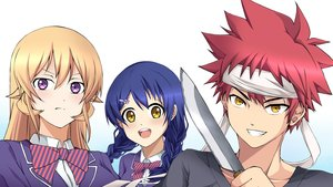 Rating: Safe Score: 14 Tags: blonde_hair blue_hair braids headband karra_kon knife long_hair male nakiri_erina purple_eyes red_hair seifuku shokugeki_no_soma short_hair tadokoro_megumi yellow_eyes yukihira_soma User: mattiasc02