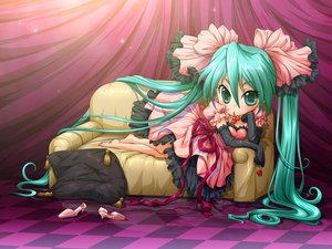 Rating: Safe Score: 24 Tags: cherry chibi food fruit hatsune_miku vocaloid world_is_mine_(vocaloid) User: Tensa