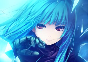 Rating: Safe Score: 630 Tags: blue_hair close coffee-kizoku gloves king_of_fighters kula_diamond long_hair red_eyes User: w7382001