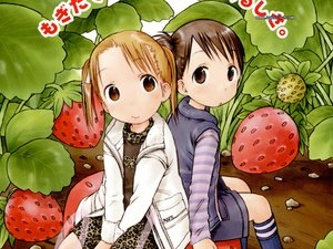 Rating: Safe Score: 3 Tags: food fruit ichigo_mashimaro itou_chika matsuoka_miu strawberry User: Oyashiro-sama