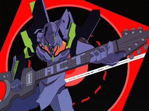 Rating: Safe Score: 20 Tags: eva-01 guitar instrument mecha neon_genesis_evangelion vector User: RyuZU