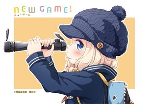 Rating: Safe Score: 17 Tags: blonde_hair blue_eyes hat logo new_game seifuku short_hair tagme_(character) tokunou_shoutarou User: Wiresetc