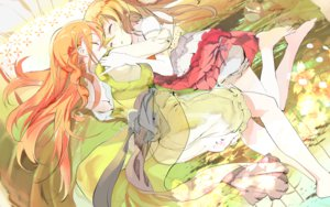 Rating: Safe Score: 103 Tags: 119 2girls barefoot blonde_hair dress hong_meiling red_hair remilia_scarlet sleeping touhou User: opai