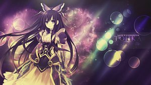 Rating: Safe Score: 255 Tags: black_hair date_a_live long_hair purple_eyes yatogami_tohka User: C4R10Z123GT