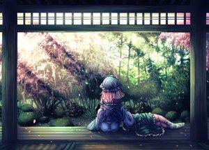 Rating: Safe Score: 28 Tags: 2girls ass cherry_blossoms flowers hat konpaku_youmu petals pink_hair saigyouji_yuyuko short_hair socks t.m_(aqua6233) touhou tree User: RyuZU