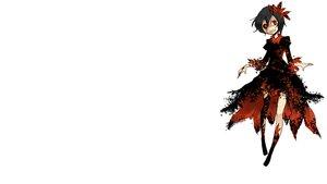 Rating: Safe Score: 87 Tags: aki_shizuha black_hair dress red_eyes shigureru touhou white User: masterP