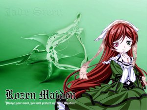 Rating: Safe Score: 10 Tags: bicolored_eyes brown_hair long_hair rozen_maiden suiseiseki User: Oyashiro-sama