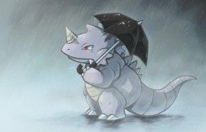 Rating: Safe Score: 22 Tags: pokemon rain rhydon thumpleweed umbrella water User: otaku_emmy