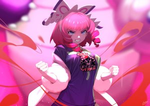 Rating: Safe Score: 44 Tags: headband komadera kurara_(pokemon) magic pink_hair pokemon purple_eyes short_hair signed User: otaku_emmy