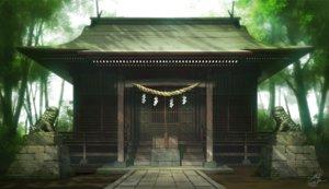 Rating: Safe Score: 24 Tags: forest mocha_(cotton) nobody original rope scenic shrine signed tree waifu2x User: otaku_emmy
