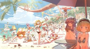 Rating: Safe Score: 85 Tags: alice_margatroid animal animal_ears apron ball barefoot beach bikini blindfold blonde_hair blue_eyes boat book bow braids breasts brown_hair bunny_ears bunnygirl camera catgirl chen cirno clouds crab dahuang daiyousei drink fairy fan fish flandre_scarlet food foxgirl fujiwara_no_mokou green_hair group hakurei_reimu hat headband hijiri_byakuren hinanawi_tenshi hong_meiling horns hoshiguma_yuugi houjuu_nue houraisan_kaguya ibuki_suika ice_cream imaizumi_kagerou inaba_tewi izayoi_sakuya kaenbyou_rin kaku_seiga kawashiro_nitori kirisame_marisa kisume kochiya_sanae komeiji_koishi komeiji_satori konpaku_youmu loli long_hair maid miyako_yoshika moriya_suwako multiple_tails murasa_minamitsu mystia_lorelei nagae_iku navel nazrin onozuka_komachi patchouli_knowledge pink_hair ponytail purple_eyes purple_hair red_eyes reisen_udongein_inaba reiuji_utsuho remilia_scarlet rumia saigyouji_yuyuko school_swimsuit sekibanki shameimaru_aya short_hair signed skirt sky sleeping sport sukuna_shinmyoumaru swim_ring swimsuit sword tail touhou tree twintails umbrella vampire volleyball wakasagihime weapon white_hair wings wink yakumo_ran yakumo_yukari User: RyuZU