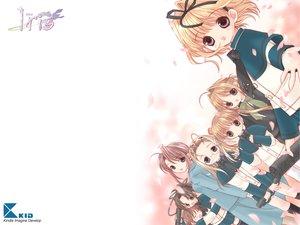 Rating: Safe Score: 13 Tags: group iris_(game) loli tokumi_yuiko white User: Oyashiro-sama