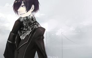 Rating: Safe Score: 48 Tags: black_hair code_geass gloves lelouch_lamperouge male sanbonzakura scarf User: PAIIS