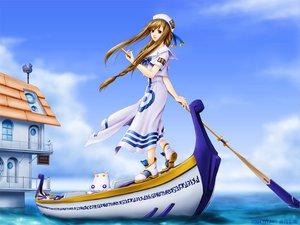 Rating: Safe Score: 19 Tags: alicia_florence aria aria_pokoteng blue boat sky User: HawthorneKitty