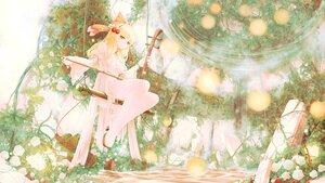 Rating: Safe Score: 22 Tags: blonde_hair dress flowers headband instrument long_hair orange_eyes polychromatic rose satsuki_rin seelehan touhou water User: BattlequeenYume