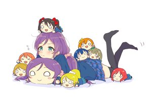 Rating: Safe Score: 25 Tags: ayase_eri azuma_(no488888) blue_eyes blush hoshizora_rin kousaka_honoka long_hair love_live!_school_idol_project minami_kotori nishikino_maki purple_hair sonoda_umi toujou_nozomi white yazawa_nico User: FormX