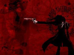 Rating: Safe Score: 3 Tags: alucard hellsing red User: Oyashiro-sama
