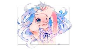 Rating: Safe Score: 67 Tags: ano_hi_mita_hana_no_namae_wo_bokutachi_wa_mada_shiranai blue_eyes blue_hair dress honma_meiko long_hair makino_(sinobusan) User: mattiasc02