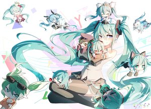 Rating: Safe Score: 87 Tags: animal_ears apple bai_yemeng blue_eyes blue_hair blush bottle_miku cat_smile chibi crown deep-sea_girl_(vocaloid) dress food fruit game_console glasses green_eyes green_hair hat hatsune_miku headband karakuri_pierrot_(vocaloid) long_hair mask project_diva red_eyes romeo_and_cinderella_(vocaloid) senbon-zakura_(vocaloid) signed skirt suna_no_wakusei_(vocaloid) sunglasses tattoo thighhighs tie twintails vocaloid watermark wink User: BattlequeenYume