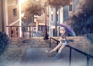 Rating: Safe Score: 8 Tags: building city loli original rain sakakidani water User: mattiasc02
