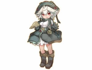Rating: Safe Score: 38 Tags: boots gloves hat karukan_(monjya) loli made_in_abyss prushka red_eyes short_hair sketch skirt white_hair User: otaku_emmy