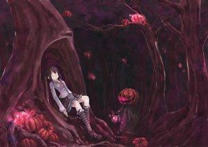 Rating: Safe Score: 65 Tags: forest goth-loli halloween lolita_fashion pumpkin scenic shiba_yuusuke tree User: Oyashiro-sama
