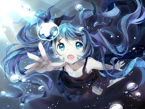Rating: Safe Score: 214 Tags: bisonbison blue_eyes blue_hair bubbles deep-sea_girl_(vocaloid) dress hatsune_miku long_hair twintails vocaloid User: Flandre93