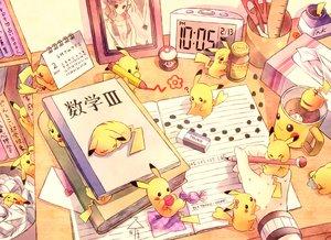 Rating: Safe Score: 210 Tags: book brown_hair foongus n pikachu pokemon torute touko_(pokemon) User: ecchifan96