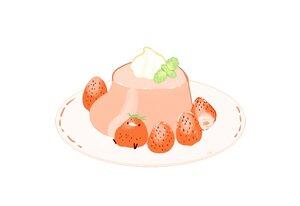 Rating: Safe Score: 7 Tags: animal bird chai_(artist) food fruit nobody original polychromatic signed strawberry white User: otaku_emmy