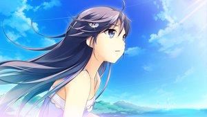 Rating: Safe Score: 135 Tags: clouds game_cg kono_oozora_ni_tsubasa_wo_hirogete sky User: Maboroshi