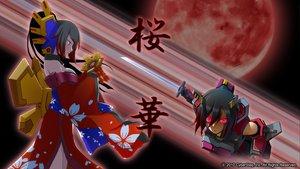 Rating: Safe Score: 16 Tags: armor black_hair cosmic_break japanese_clothes long_hair moon ouka_(cosmic_break) pink_eyes ponytail sword tagme_(artist) watermark weapon User: Tensa