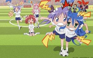 Rating: Safe Score: 3 Tags: ball hiiragi_kagami hiiragi_tsukasa izumi_konata kobayakawa_yutaka kogami_akira lucky_star shiraishi_minoru soccer sport takara_miyuki User: Oyashiro-sama