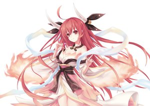 Rating: Safe Score: 215 Tags: date_a_live horns itsuka_kotori japanese_clothes kimono lemoo long_hair red_hair User: Wiresetc