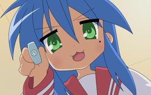 Rating: Safe Score: 28 Tags: cat_smile close izumi_konata lucky_star seifuku User: Oyashiro-sama