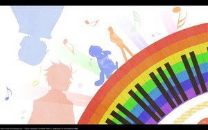Rating: Safe Score: 29 Tags: chiaki_shinichi music nodame_cantabile noda_megumi silhouette User: 秀悟