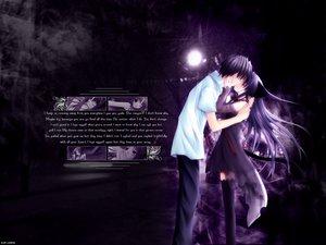 Rating: Safe Score: 63 Tags: animal_ears catgirl kiss male pure_pure tail thighhighs tobari yuuki_jun User: yangb1203