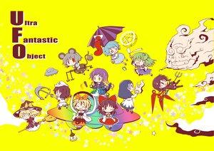 Rating: Safe Score: 24 Tags: animal_ears blonde_hair blue_hair brown_eyes brown_hair chibi dollar dress gray_hair green_eyes green_hair hakurei_reimu hat hijiri_byakuren houjuu_nue japanese_clothes jpeg_artifacts kirisame_marisa kochiya_sanae kumoi_ichirin long_hair magic miko mousegirl murasa_minamitsu nazrin purple_hair red_eyes ribbons short_hair shorts skirt spear tail tatara_kogasa thighhighs toramaru_shou touhou umbrella unzan weapon wings wink witch witch_hat yellow yellow_eyes User: w7382001
