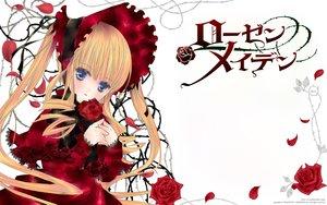 Rating: Safe Score: 24 Tags: dress flowers lolita_fashion peach-pit rose rozen_maiden shinku User: Wiresetc