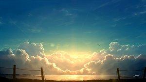 Rating: Safe Score: 72 Tags: alpcmas animal bird clouds nobody original reflection scenic signed sky sunset water User: otaku_emmy