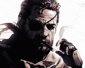 Rating: Safe Score: 104 Tags: all_male big_boss cigarette close cropped eyepatch ilya_kuvshinov male metal_gear metal_gear_solid metal_gear_solid:_peace_walker monochrome User: mattiasc02