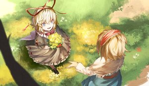 Rating: Safe Score: 49 Tags: alice_margatroid kinketsu medicine_melancholy touhou User: mattiasc02