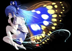 Rating: Safe Score: 50 Tags: indica touhou yorigami_shion User: BattlequeenYume