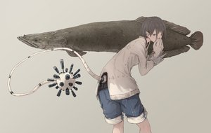 Rating: Safe Score: 25 Tags: animal fish original pointed_ears tail yuu-rin User: FormX