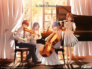 Rating: Safe Score: 26 Tags: christin_adol feena flute instrument piano reah tagme violin ys User: w7382001